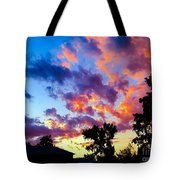 Looking At The Sunset Tote Bag