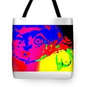 looking at you I can see only myself  Tote Bag