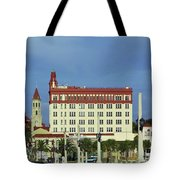 Looking Back At St Augustine Tote Bag