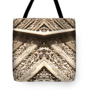 Looking Both Ways Down The Train Tracks Tote Bag