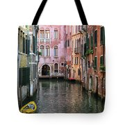 Looking Down A Venice Canal Tote Bag