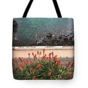 Looking Down, Angra Do Heroismo, Terceira Island Of Portugal Tote Bag by Kelly Hazel