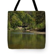 Looking Down Bryant Creek Tote Bag