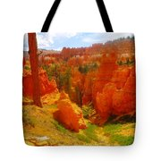 Looking Down In Bryce Tote Bag
