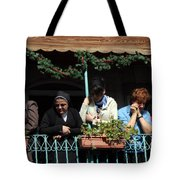 Looking Down Tote Bag