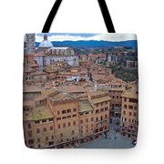 Looking Down On Il Campo Tote Bag