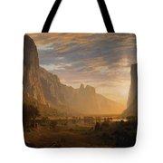 Looking Down Yosemite Tote Bag