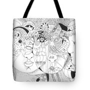 Looking For Kindness Tote Bag