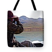 Looking For Musk Ox In Greenland Tote Bag