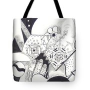 Looking For The Universe In A Grain Of Sand Tote Bag