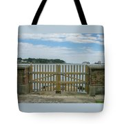 Looking From Brownsea Towards Sandbanks And Shell Bay Tote Bag