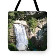 Looking Glass Falls Nc Tote Bag