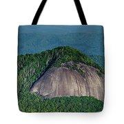 Looking Glass Rock Mountain In North Carolina Tote Bag