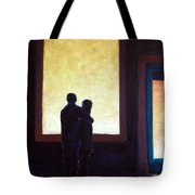 Looking In Looking Out Tote Bag