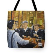 Looking In The Pub Tote Bag