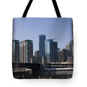 Looking Into The City Tote Bag