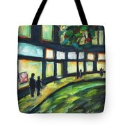 Looking On Tote Bag