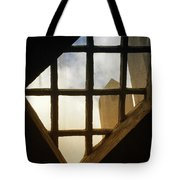 Looking Out From The Mercer Museum Tote Bag