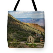 Looking Out Over The Hills Tote Bag