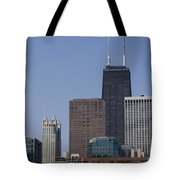 Looking Over Tote Bag