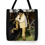 Looking The Morning Straight In The Eye Tote Bag
