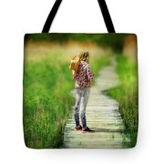 Looking To The Future Tote Bag