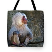 Looking To The Left Tote Bag