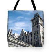 Looking Up At Old City Hall Tote Bag