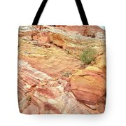 Looking Up From Wash 3 In Valley Of Fire Tote Bag