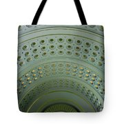 Looking Up In Union Station -- A Westward View Tote Bag