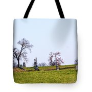 Looking Up The Union Line Tote Bag