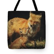 Looking Up To Mommy Tote Bag