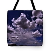 Looking West From Golden   Tote Bag