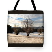 Looking West Late Afternoon Tote Bag