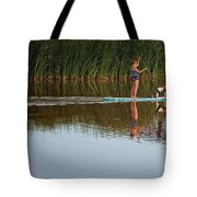 Lookout Dog Tote Bag