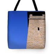 Lookout Tower On A Civil War Battlefield In Antietam Creek Maryl Tote Bag