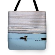 Loon On The Arctic Tote Bag