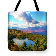 Loon Pond Tote Bag