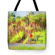 Loop Mile Marker 26 Tote Bag