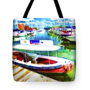 Loose Cannon Water Taxi 1 Tote Bag by Lanjee Chee