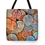Loose Change Tote Bag