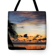 Lopez Point Skyline Tote Bag