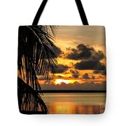 Lopez Point Sunset Tote Bag
