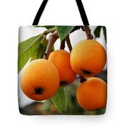 Loquats In The Tree 2 Tote Bag