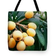 Loquats In The Tree 3 Tote Bag