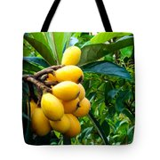 Loquats In The Tree 4 Tote Bag