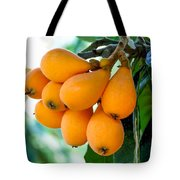 Loquats In The Tree 5 Tote Bag