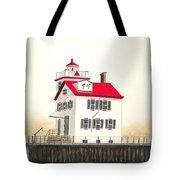 Lorain Lighthouse Tote Bag