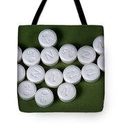 Lorazepam 0.5 Mg Tablets Tote Bag