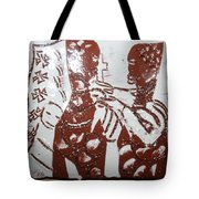 Lord Bless Me 3 - Tile Tote Bag